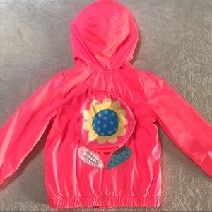 Bright Neon Pink Cat & Jack Light Jacket